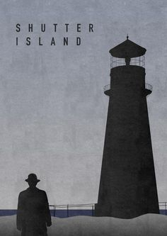 Shutter Island by Dennis Lehane (poster by Oliver Shilling)