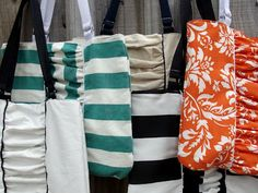 Ruched Tote Tutorial, oh the possibilities!