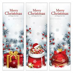 Classy Christmas Banners Mlm Banners