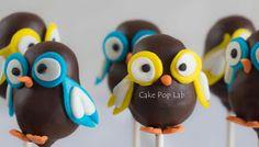 Owls cake pops.....too cute!