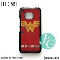 Wonder Woman Logo Phone Case for HTC One M9 case and other HTC Devices