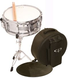 GP Percussion SK22 Complete Student Snare Drum Kit - http://www.kidstrument.com/drums-percussion/gp-percussion-sk22-complete-student-snare-drum-kit