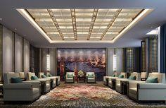 DB Kim Shop Interiors, Office Interiors, Living Room Designs, Living Room Decor, Reception Rooms, Ceiling Design, Modern Interior Design, Wuhan, Chinese