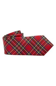 Nordstrom 'Royal Stewart' Silk Tie (Big Boys)