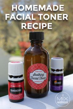 This homemade facial toner recipe is easy to make! Knowing what ingredients you are applying to skin is important part of your wellness journey.