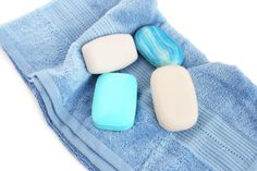 Soaps On A Towel