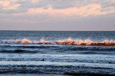 Title  Wave Colored By The Setting Sun   Artist  Debra Martz   Medium  Photograph - Photography