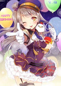Love live happy birthday Kotori