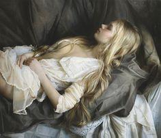 Serge Marshennikov, Russian Figurative Artist, Waterhouse Gallery, Intimate Romantic Figurative Painter
