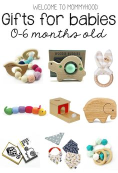 Best gifts for babies by Welcome to Mommyhood #babygifts, #montessori, #holidays, #giftsfornewbaby,