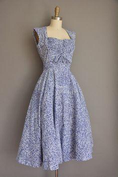 vintage 1950s dress / 50s dress/ 1950s Jerry by simplicityisbliss