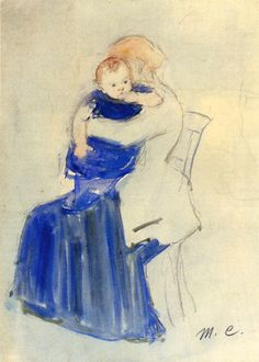 Mother and Child - Mary Cassatt