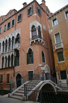 Palazzo Priuli on Ponte d. Davolo, Venice Venezia Veneto