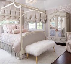 The Bedframe Wardrobe and Ottoman also like the softness of the mauve sort if creme