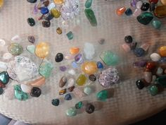 Crystal beauties to be part of our Crystal Immersion weekend, Salida, Colorado, July 2014