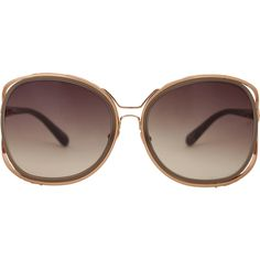 6464aaa094b LINDA FARROW Square Oversized Sunglasses
