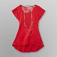 Bongo Junior's Lace Top & Necklace at Sears.com