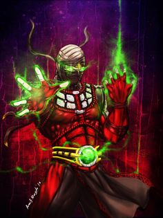 Ermac Mortal Kombat by Grapiqkad on DeviantArt