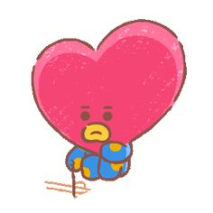 Discover & share this Animated GIF with everyone you know. GIPHY is how you search, share, discover, and create GIFs. Line Friends, Fan Art, Bts Chibi, Bts Fans, Line Sticker, Bts Lockscreen, Bts Group, Cute Gif, Cute Characters