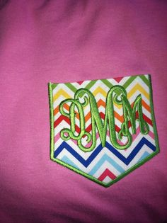 My new frocket tee! Thanks to my friend, Judy, at An Initial Impression. (843) 606-2160