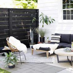 Resin Patio Furniture, Backyard Furniture, Rattan Furniture, Black Outdoor Furniture, Modern Outdoor Decor, Modern Furniture, Geek Furniture, Adirondack Furniture, Furniture Sale