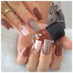 86 marvelous nail art designs 2019 page 00046 Nail Art Designs, Acrylic Nail Designs, Elegant Nails, Stylish Nails, Gel Nails, Nail Polish, Nailart, Image Nails, Wedding Nails Design