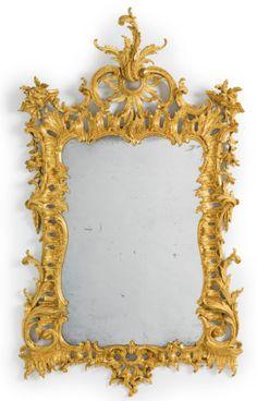 A fine George II giltwood pier mirror circa 1750   lot   Sotheby's