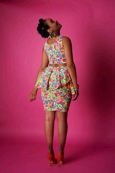 The Garden Party Skirt ~African fashion, Ankara, kitenge, African women dresses African Inspired Fashion, Latest African Fashion Dresses, African Dresses For Women, African Print Dresses, African Print Fashion, Africa Fashion, African Attire, African Wear, African Women
