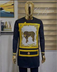 Latest African Wear For Men, Latest African Men Fashion, Nigerian Men Fashion, African Attire For Men, African Clothing For Men, Gents Kurta Design, African Print Dress Designs, Native Wears, African Dresses Men