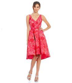 Fuchsia:Eva Franco Zander Fit and Flare Dress