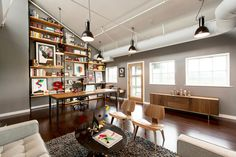 SND CYN Studios | Office Space Remodel | The Color & Shape