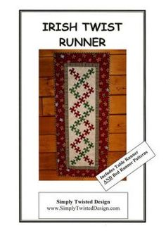 Irish Twist Runner pattern