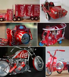 Kerajinan Tangan Dari Kaleng Bekas Coca Cola