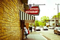 Rotier's Restaurant is one of Nashville's oldest diners serving up classic hamburgers and cold beer in the West End neighborhood of Nashville, Tennessee. #Nashville #MusicCity #NashvilleEats #NashvilleNeighborhoods