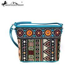 Montana West Aztec Collection Crossbody
