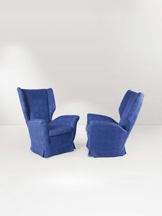 Anonymous; Lounge Chairs by ISA, 1950.