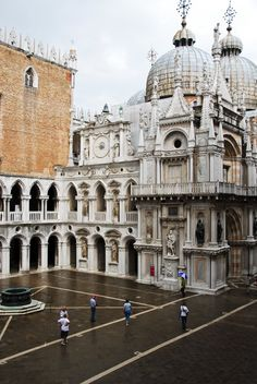 "#Venice #Italy -- The Doge's Palace in Venice. The Doge was the ""chief magistrate."" Venice, Italy"