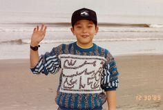 Matt Murray visiting the Atlantic shore in Virginia Beach, VA shortly after my retirement from the Navy in 1989.
