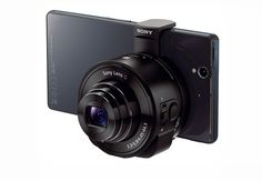 full frame smartphone lens camera attachments from sony - designboom | architecture