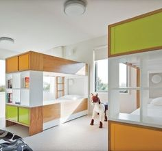 Contemporary Children\'s Room by Thad Hayes Inc. and Leroy Street Studio in Westhampton, New York