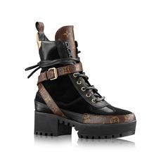 Laureate Platform Desert Boot via Louis Vuitton