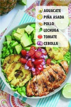 Que rico Healthy Recepies, Healthy Snacks, Healthy Eating, Comidas Fitness, Vegetarian Recipes, Cooking Recipes, Healthy Meal Prep, Food And Drink, Yummy Food