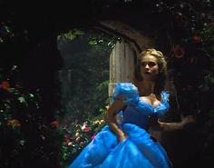 Lily James as Cinderella - 2015