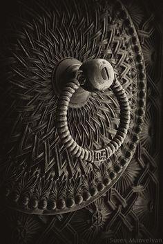 Detail from an old Armenian door   ©Suren Manvelyan