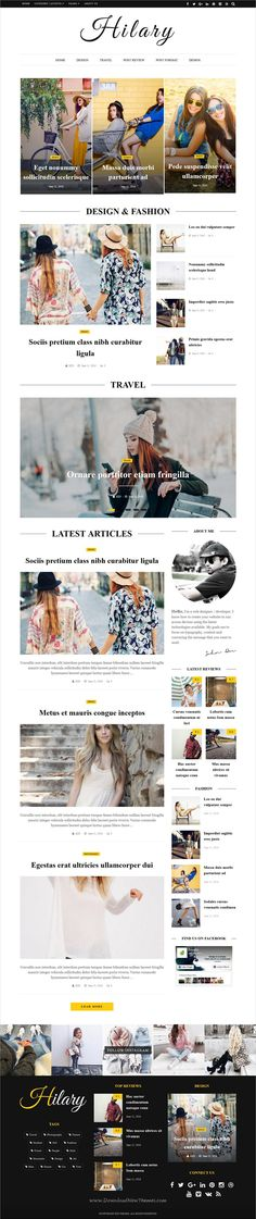 Hilary is premium flat, clean, super flexible & responsive #WordPress theme for #magazines, #newspaper or #blogs websites with 31 unique homepage layouts download now➩ https://themeforest.net/item/hilary-fast-clean-flexible-wordpress-magazine-news-blog-theme/19078044?ref=Datasata