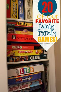 We are HUGE game playing family! and I'm so excited that my kids are finally out of the candy land game stage! Now we can all play games we all enjoy!!! I've got a great roundup of alll the ones we love (my kids are 6 1/2, 9 and 11!) Our awesome library actually rents [...]