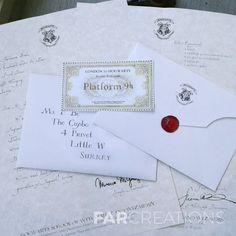 Tu carta de aceptación de Howgarts, poción multijugos, mapa del merodeador y más.