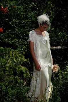 1930s wedding Vintage Lace Wedding dress by RetroVintageWeddings, $889.00