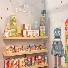 Petit Collage on display at San Francisco International Gift Show 2015.