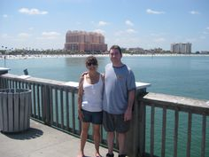 Pier at Clearwater Beach, FLA
